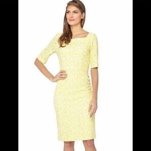 Tahari Arthur S. Levine Lace Dress